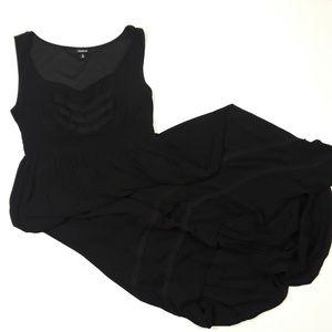 Torrid hi-low Black Rayon Dress